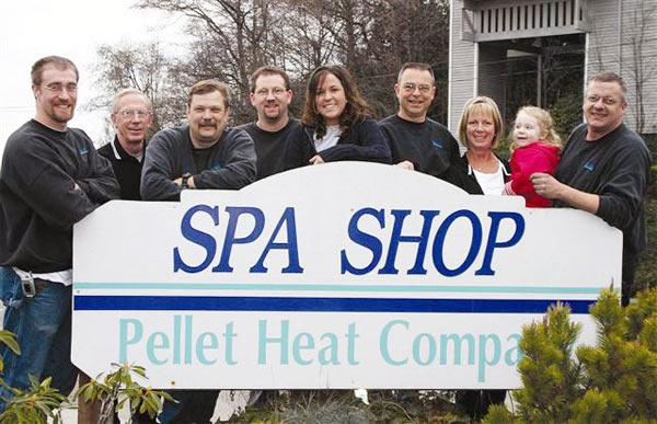 Spa Shop Pellet Heat Company